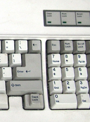 English: IBM AT Keyboard
