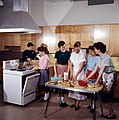 A Home Economics class receiving instructions on cooking. Ottawa, Ontario, 1959.jpg