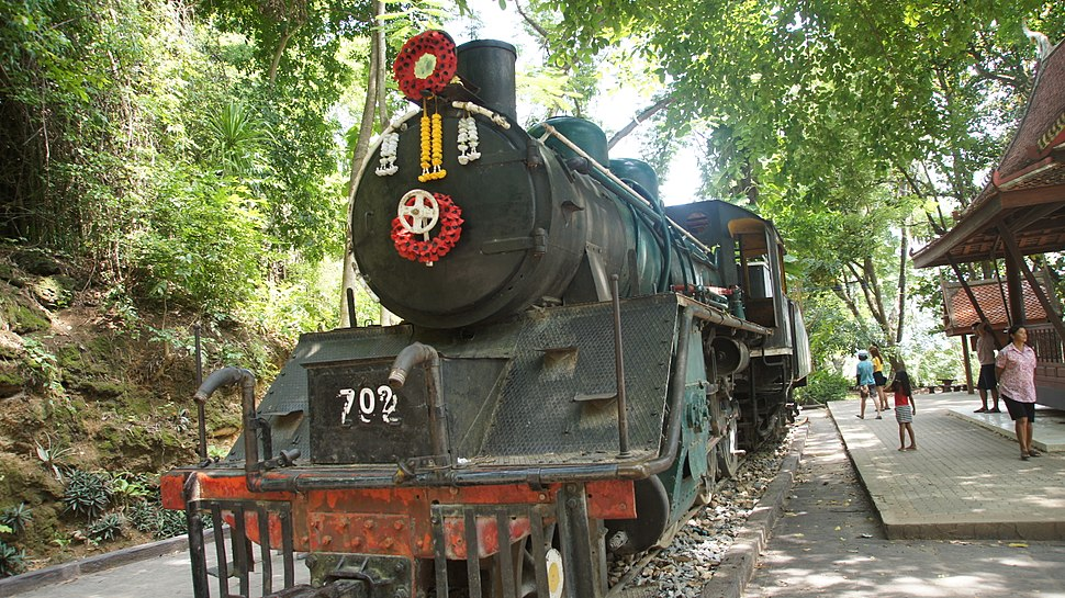 A Japanese locomotive used in Burma-Thailand Railway during the world war 2