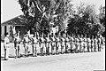 A POLICE INSPECTION AT KFAR SABA. מסדר של גפירים (שוטרים) במשטרת כפר סבא.D604-061.jpg