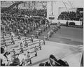 A band goes by in President Truman's inaugural parade - NARA - 200053.tif