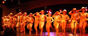 Lighting designer - A Chorus Line was lit using conventional lighting instruments