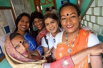 Hijra (Indian subcontinent) - A group of Hijra in Bangladesh