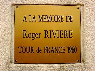 Roger Rivière - Image: A la memoire de Roger Riviere 1
