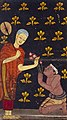 A poor woodcutter picks lotus flowers in a pond Wellcome L0030800 (cropped).jpg