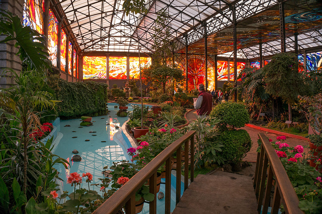 Resultado de imagen para jardin botanico cosmovitral