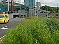 A view on the NEMO-museum, including the entrance road of the IJ-tunnel in Amsterdam, FotoDutch, 2013.jpg