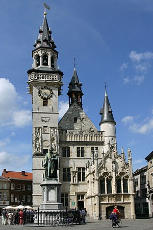 Aalst, Belgium - Belfry of Aalst