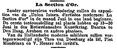 Aankondiging tentoonstelling La Section d'Or.jpg