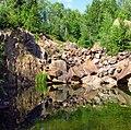 Abandoned gold mine near Larder Lake, Ontario, Canada.jpg