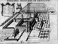 Abbaye Saint-Mélaine de Rennes dans Monasticon Gallicanum.jpg