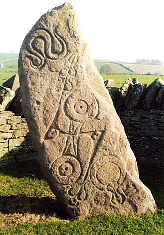 Aberlemno Sculptured Stones - Image: Aberlemno Pictish Stone geograph.org.uk 4357
