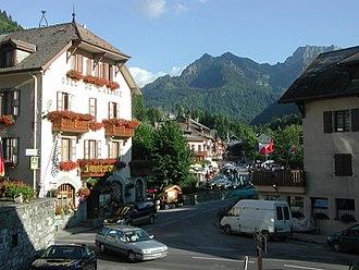 Abondance, Haute-Savoie - A view within Abondance