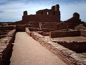 Salinas Pueblo Missions National Monument - Image: Aboruins