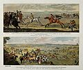 Above, two horses and their riders are approaching the finis Wellcome V0021771.jpg