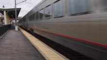File:Acela Kingston Station RI at 150 mph.webm