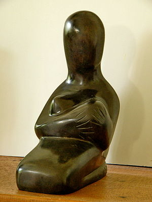 """Breast-feeding"" - Bronze"