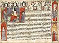 Acte écrit à Avignon au nom de Benoît XII par l'archevêque Antivari Guillelmus.jpg
