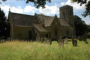 English: Adlestrop Church Adlestrop Church is ...