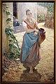 Adolfo tommasi, portatrice d'acqua nei pressi di un casolare, 1890-95 ca. (palazzina regia, montecatini) 0.jpg
