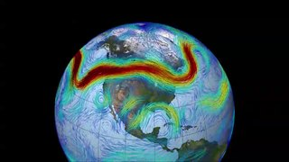 Jet stream Fast-flowing atmospheric air current