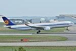 Airbus A330-300 Belgian Air Force (BAF) CS-TMT - MSN 096 (10498368804).jpg