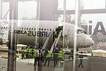 Airbus A350 demonstration at Tehran Mehrabad Airport (19).jpg