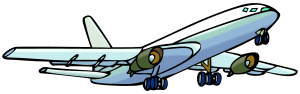 Airplane clipart.svg