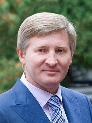 Ukrainian oligarchs - Image: Akhmetov Rinat Leonidovich