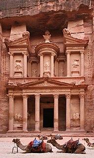Al-Khazneh Ancient temple