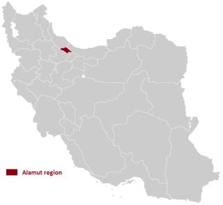 Alamut region in Iran