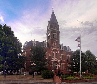 Gentry County, Missouri - Image: Albany mo