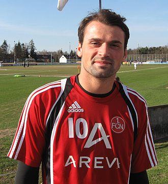 Kosovo national football team - Image: Albert Bunjaku 2010