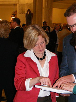 Rachel Notley - Rachel Notley as an MLA in 2009