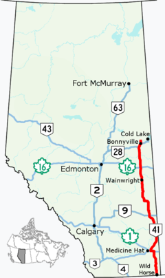 Alberta Highway 41 Wikipedia