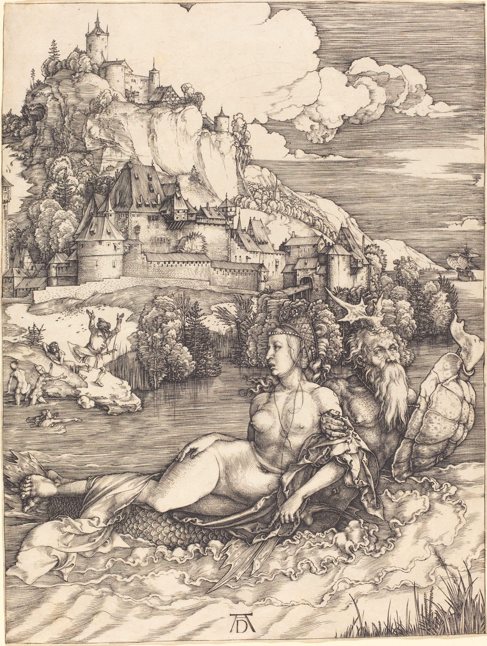 Albrecht Dürer - Sea Monster (Das Meerwunder) (NGA 1943.3.3483)