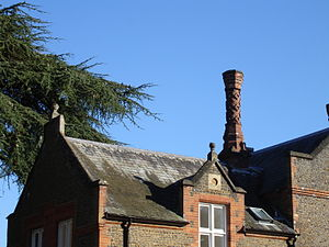 Albury Park - One of the initial 63 different chimneys
