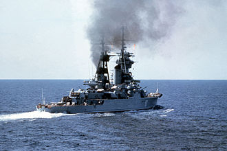 Thunderball (novel) - Ordzhonikidze was a ''Sverdlov''-class cruiser similar to that shown in this photograph (Alexander Nevsky).