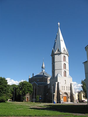 Estonian Evangelical Lutheran Church - Alexander Cathedral, Narva