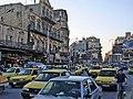 Aleppo (Halab), Verkehr, Osmanische Häuser in der Innenstadt (38674547822).jpg