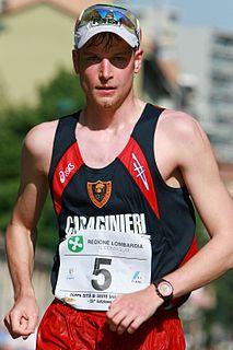 Alex Schwazer Italian Olympic race walker