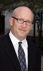 Photo of Alex Gibney attending the Tribeca Film Festival in 2011.