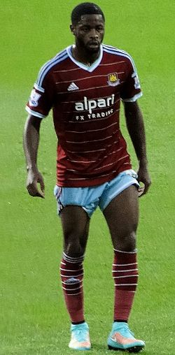 Alex Song with West Ham United September 2014.jpg