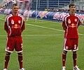 Alexander Walke und Niclas Heimann (FC Red Bull Salzburg).JPG