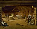 Alexei Venetsianov - Threshing Barn - Google Art Project.jpg