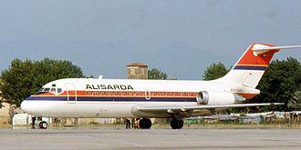 Alisarda - Image: Alisarda DC 9 I SARJ 1