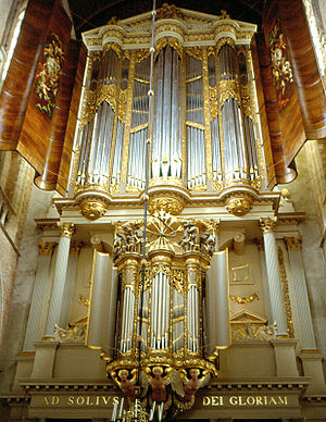 Grote or Sint-Laurenskerk (Alkmaar) - Organ