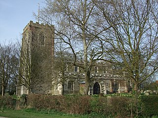Church in Lincolnshire, England