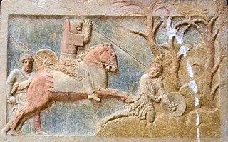 Account of mercenary warfare in Ancient Greece