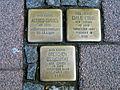 Am Markt 6, Celle, Stolpersteine Alfred Cussel 1881, Tot 14.4.1941, Emilie Erbse Jg 1877 deportiert 1941 ermordet in Riga Gretchen Zerkowski Jg 1887 1942 Piaski.jpg